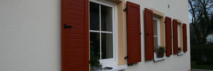 Fenster des Einfamilienhauses in Döbeln
