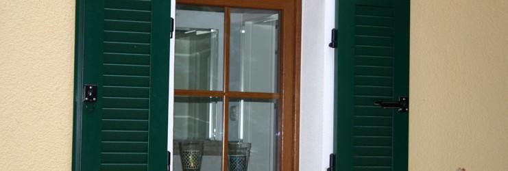 Fenster des Einfamilienhauses in Waldsteinberg