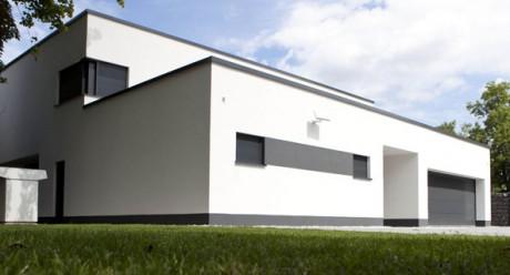 Hausansicht des Einfamilienhauses in Freiberg