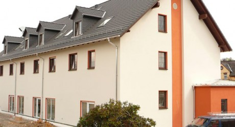 Gebäudeansicht des Hotels Beierlein in Reichenbach