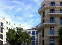 Gebäudeansicht der Wohnanlage Fellini in Berlin