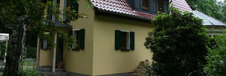 Hausansicht des Einfamilienhauses in Waldsteinberg