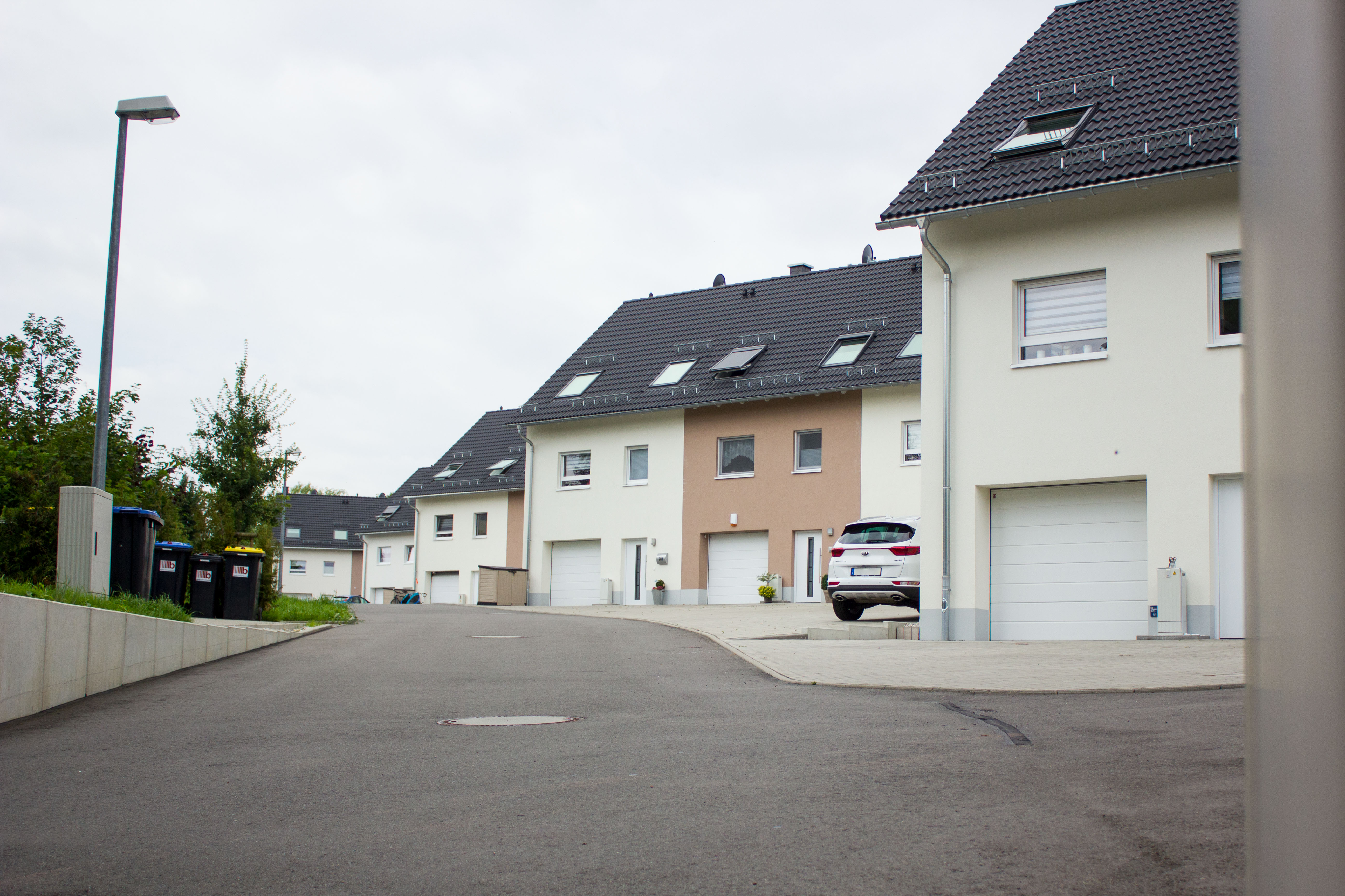 2014-2017 Reihenhaus-Wohnanlage in Freiberg